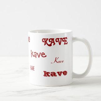 Coffee in Hungarian Coffee Mug