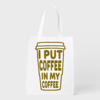 Coffee In My Coffee Grocery Bag