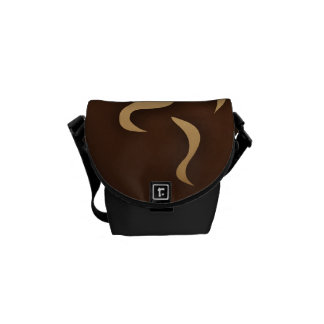 Coffee In My Cup Courier Bag