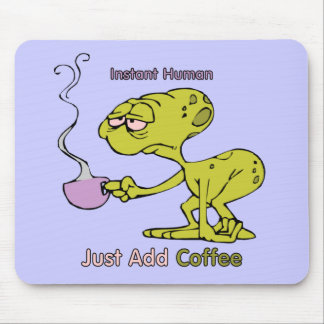 Coffee: Instant Human Mouse Pad