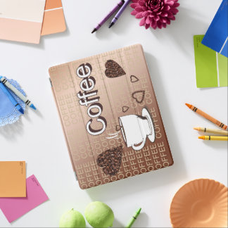 Coffee iPad Cover