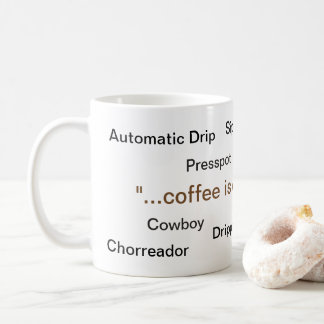 Coffee is Coffee Mug