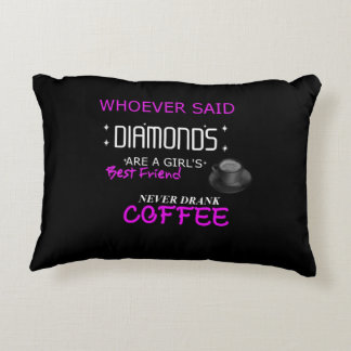 Coffee Is My BFF Accent Pillow