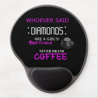 Coffee Is My BFF Gel Mouse Pad