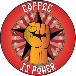 Coffee Is Power Photo Sculptures