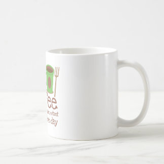 Coffee is the most important meal of the day coffee mug