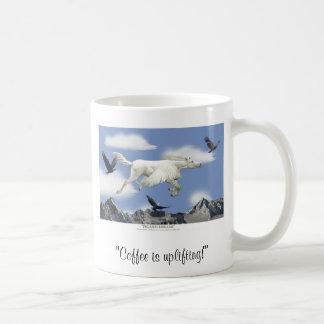 COFFEE IS UPLIFTING! Pegasus Art Mug