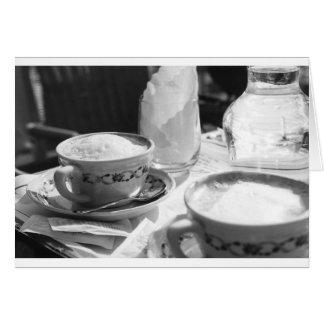 Coffee Italian Style Card