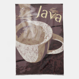 Coffee Java Hot Mug Kitchen Towel