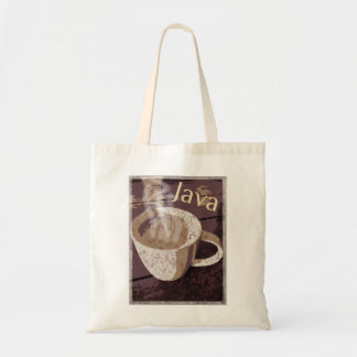 Coffee Java Vintage Art Tote Bag