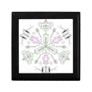 Coffee kaleidoscope gift box