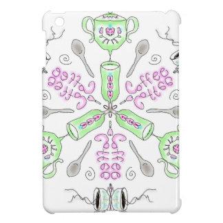Coffee kaleidoscope iPad mini case