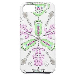 Coffee kaleidoscope iPhone 5 covers