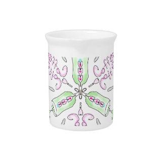 Coffee kaleidoscope pitcher