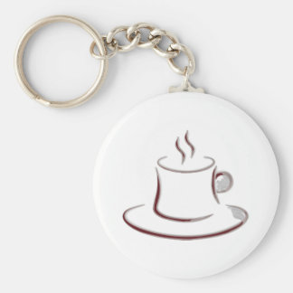 coffee key chains
