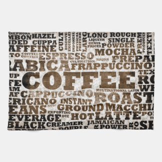 Coffee Kitchen Towel