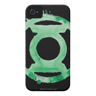 Coffee Lantern Symbol - Green iPhone 4 Cases