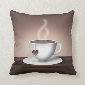 Coffee Latte Accent Pillow