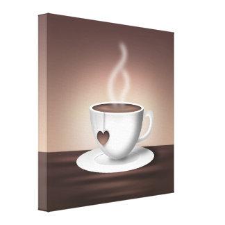 Coffee Latte Wall Art Canvas Prints