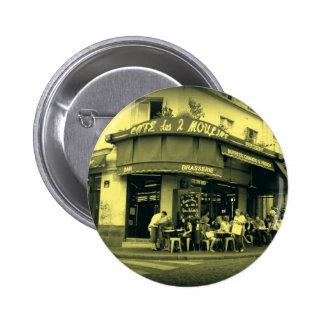 Coffee Le Deux Moulain 2 Inch Round Button