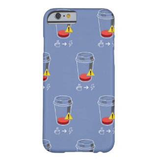 Coffee level low barely there iPhone 6 case