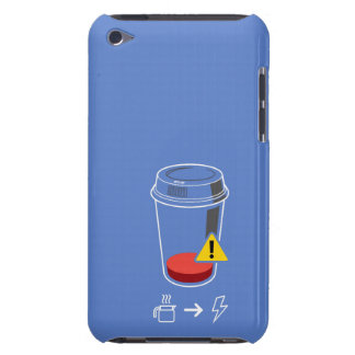 Coffee level low iPod touch case