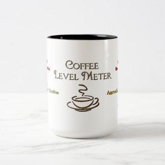 Coffee Level Meter Coffee Mug