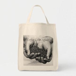Coffee Love Affair. Cappuccino Tote Bag