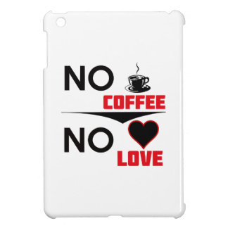 coffee love iPad mini cover