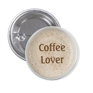 Coffee Lover 1 Inch Round Button