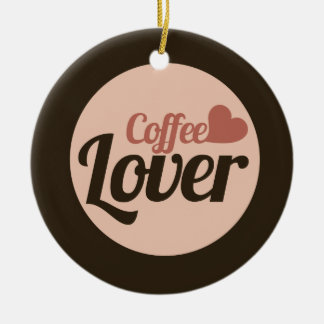 Coffee Lover Ceramic Ornament