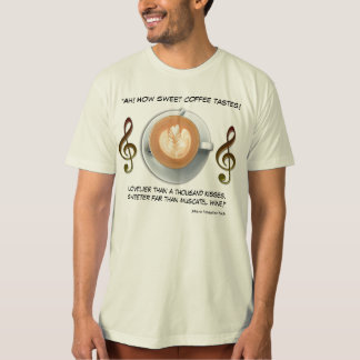 Coffee Lover Quote T Shirt