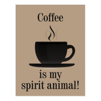Coffee Lover T-Shirt Postcard