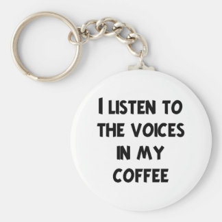 Coffee Lover T-shirts and Gifts Keychain