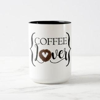 Coffee Lover Two-Tone Coffee Mug
