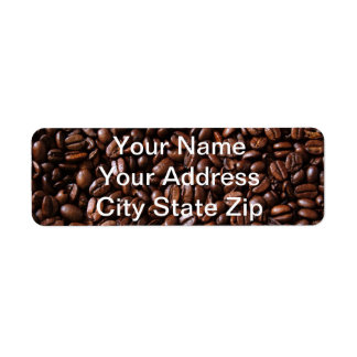 Coffee Lovers Address Labels