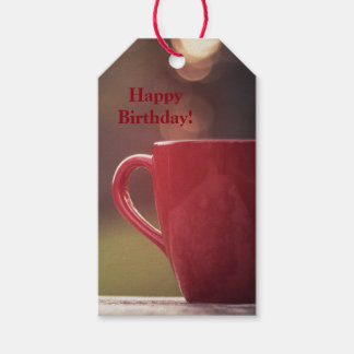 Coffee Lovers Birthday Gift Tags