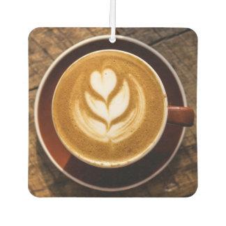 Coffee Lover's car air freshner Car Air Freshener