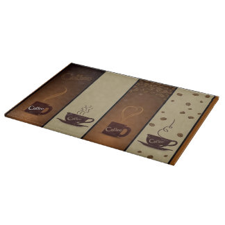 Coffee Lovers Cutting Board