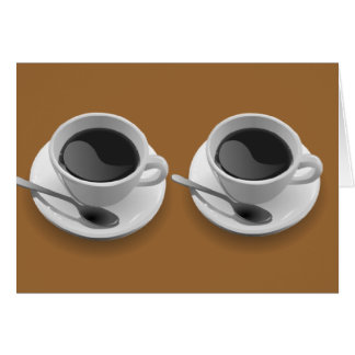 Coffee Lovers Gifts Greeting Card