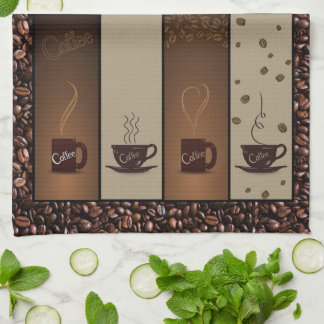 Coffee Lovers Kitchen Towel