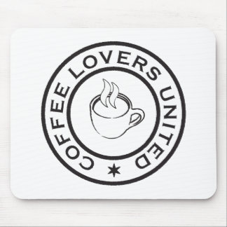 Coffee Lovers Mouse Pad