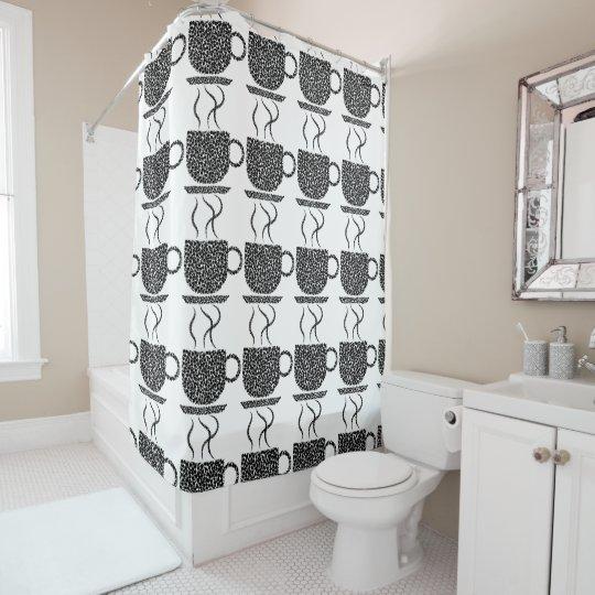 COFFEE LOVERS Shower Curtain
