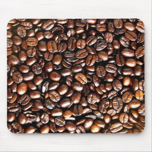 Coffee Lovers Whole Bean Collage Mouse Pad