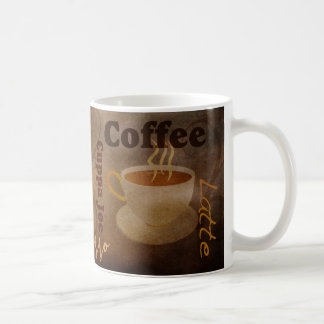 Coffee Lover's Word Art Mug