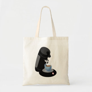 Coffee Machine Tote Bag