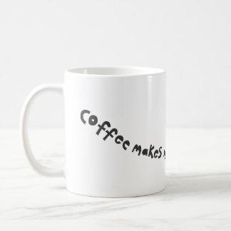 coffee make me buzz coffee mug