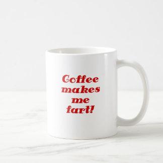 Coffee Makes me Fart Coffee Mug