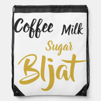 Coffee Milk Sugar Bljat sport bag