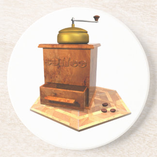 coffee mill coaster